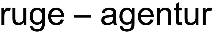 ruge-agentur
